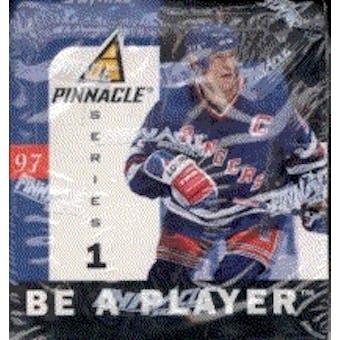 1996/97 Pinnacle Be A Player Series 1 Hockey Hobby Box