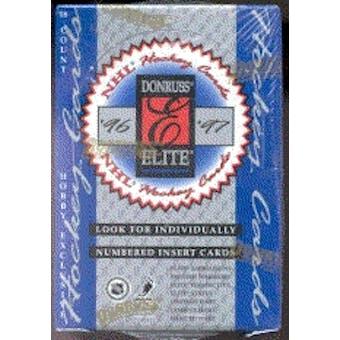1996/97 Donruss Elite Hockey Hobby Box