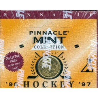 1996/97 Pinnacle Mint Hockey Hobby Box