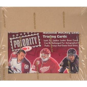 1997/98 Donruss Priority Hockey Hobby Box