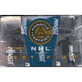 1997/98 Pinnacle Certified Hockey Hobby Box