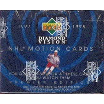 1997/98 Upper Deck Diamond Vision Hockey Hobby Box
