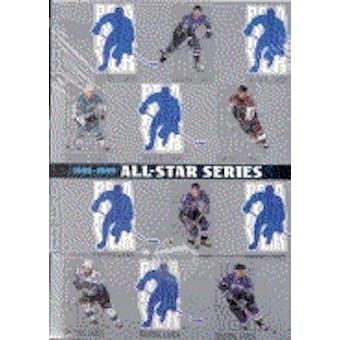 1998/99 Be A Player All-Star Edition Series 1 Hockey Hobby Box