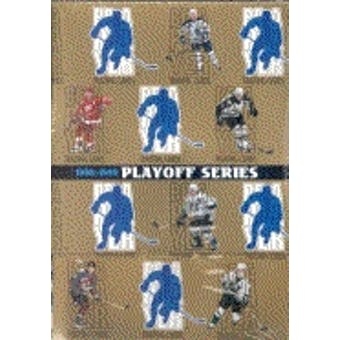 1998/99 Be A Player Playoff Edition Series 2 Hockey Hobby Box