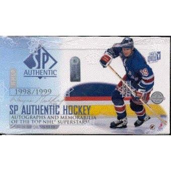 1998/99 Upper Deck SP Authentic Hockey Hobby Box