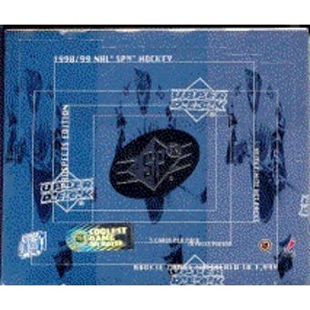 1998/99 Upper Deck SPx Top Prospects Hockey Hobby Box