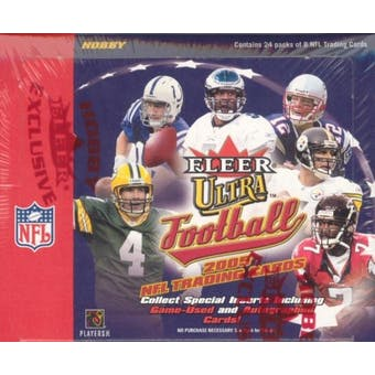 2005 Fleer Ultra Football Hobby Box (Upper Deck)