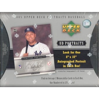 2005 Upper Deck Portraits Baseball Hobby Box
