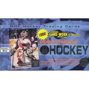 1999/00 Pacific Omega Hockey Hobby Box