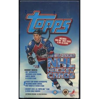 1999/00 Topps Hockey Hobby Box
