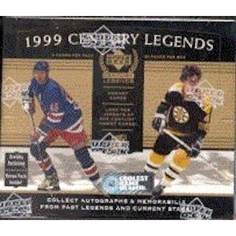1999/00 Upper Deck Century Legends Hockey Hobby Box