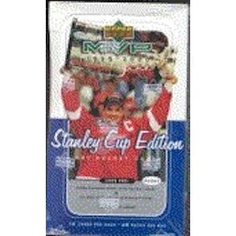 1999/00 Upper Deck MVP Stanley Cup Edition Hockey Hobby Box