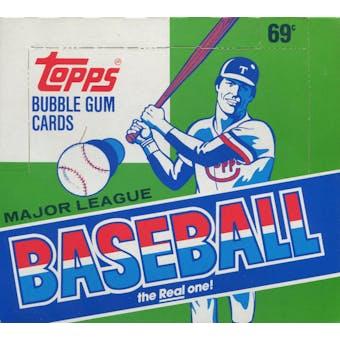 1987 Topps Baseball Cello Box