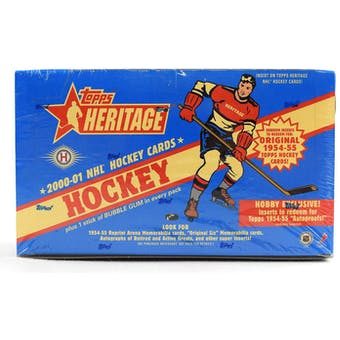 2000/01 Topps Heritage Hockey Hobby Box