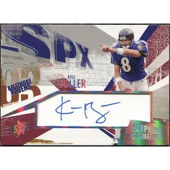 2003 Upper Deck SPx Supreme Signatures #SSBO Kyle Boller Autograph