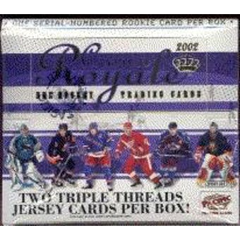 2001/02 Pacific Crown Royale Hockey Hobby Box