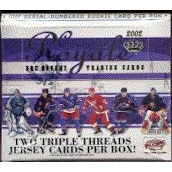 2001/02 Pacific Crown Royale Hockey Hobby Box