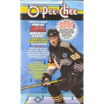 2001/02 O-Pee-Chee Hockey Hobby Box