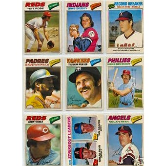 1977 O-Pee-Chee Baseball Complete Set (NM-MT condition)