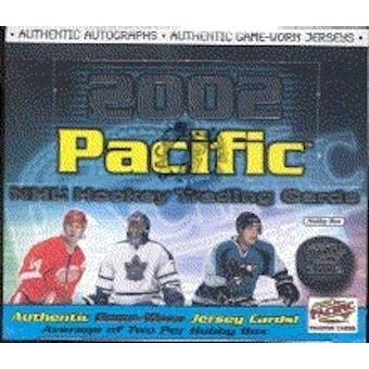 2001/02 Pacific Hockey Hobby Box