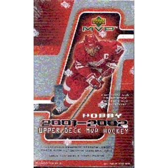 2001/02 Upper Deck MVP Hockey Hobby Box
