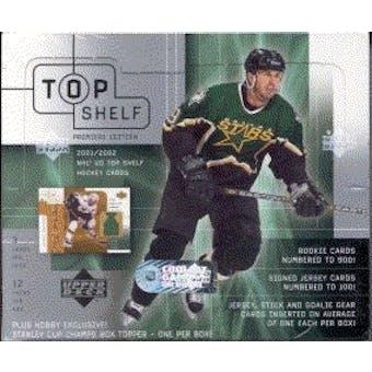 2001/02 Upper Deck Top Shelf Hockey Hobby Box