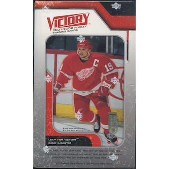 2001/02 Upper Deck Victory Hockey 36-Pack Box