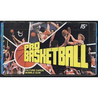 1976/77 Topps Basketball Wax Box