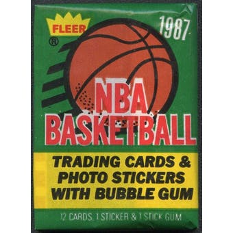 1987/88 Fleer Basketball Complete Set W/ Stickers (NM-MT)