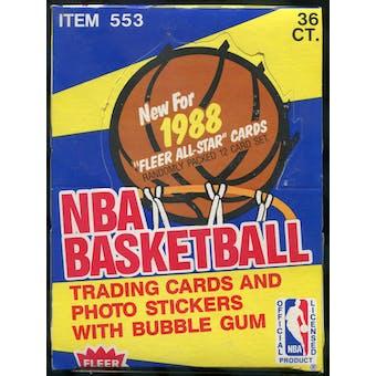 1988/89 Fleer Basketball Wax Box