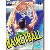 1989/90 Fleer Basketball Wax Box