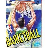 1989/90 Fleer Basketball Wax Box (Reed Buy)