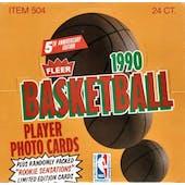 1990/91 Fleer Basketball Cello Box (Reed Buy)