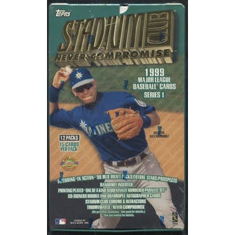1999 Topps Stadium Club Series 1 Baseball Jumbo Box