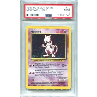 Pokemon Base Set Unlimited Mewtwo 10/102 PSA 9