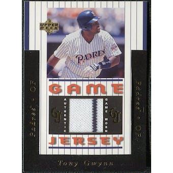 1997 Upper Deck Game Jersey #GJ2 Tony Gwynn