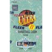 1992/93 Fleer Ultra Series 2 Basketball Hobby Box