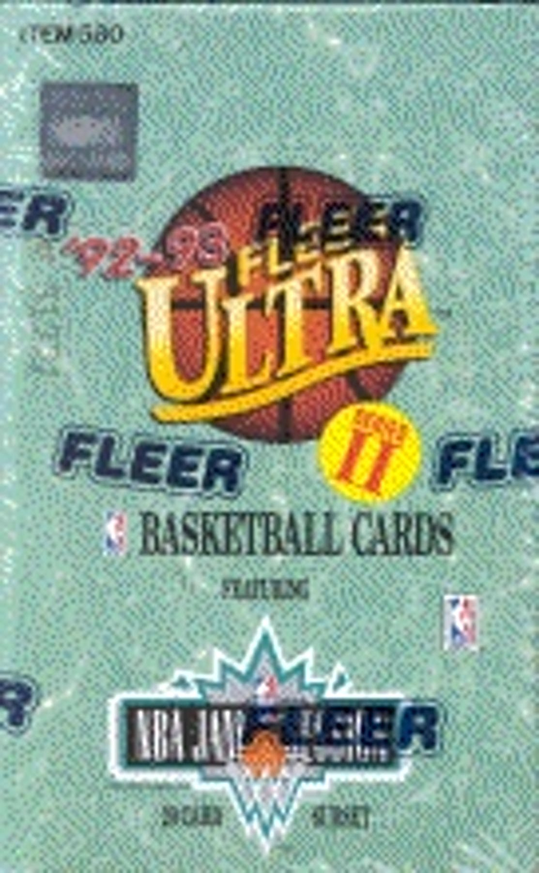 199293 Fleer Ultra Series 2 Basketball Hobby Box Da Card World