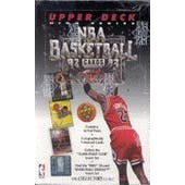 1992/93 Upper Deck Hi # Basketball Hobby Box (Reed Buy)