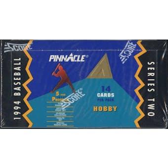 1994 Pinnacle Series 2 Baseball Hobby Box