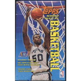 1996/97 Topps Series 2 Basketball 36 Pack Box