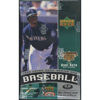 1999 Upper Deck Series 1 Baseball Prepriced Box