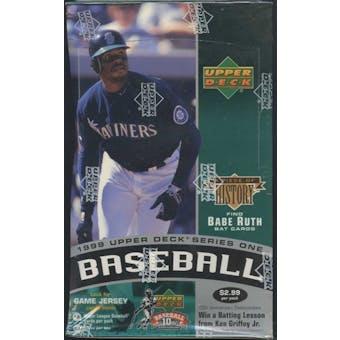 1999 Upper Deck Series 1 Baseball Prepriced Box