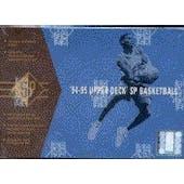 1994/95 Upper Deck SP Basketball Hobby Box (Reed Buy)