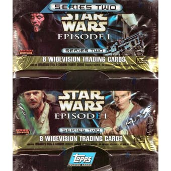 Star Wars Episode I Widevision Series 2 - 24 Pack Box (Topps) (Reed Buy)