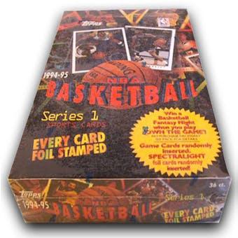 1994/95 Topps Series 1 Basketball Hobby Box