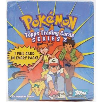 Pokemon TV Animation Series 2 Hobby Box (2000 Topps)