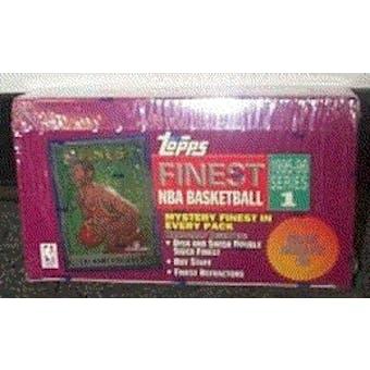 1995/96 Topps Finest Series 1 Basketball Hobby Box