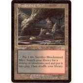 Magic the Gathering Onslaught Single Bloodstained Mire - SLIGHT PLAY (SP)