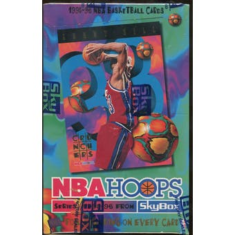 1995/96 Hoops Series 1 Basketball Hobby Box